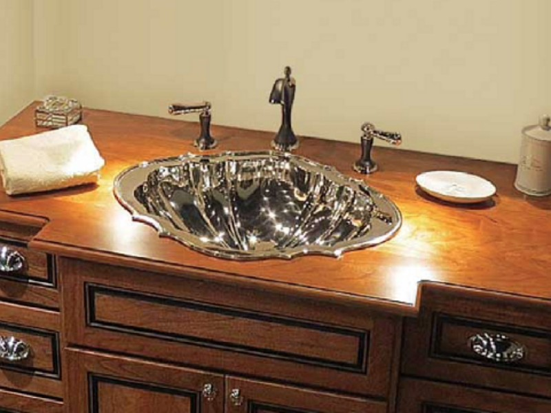 Linkasink Bathroom Sink - B038 - PN Bronze Taxco Sink