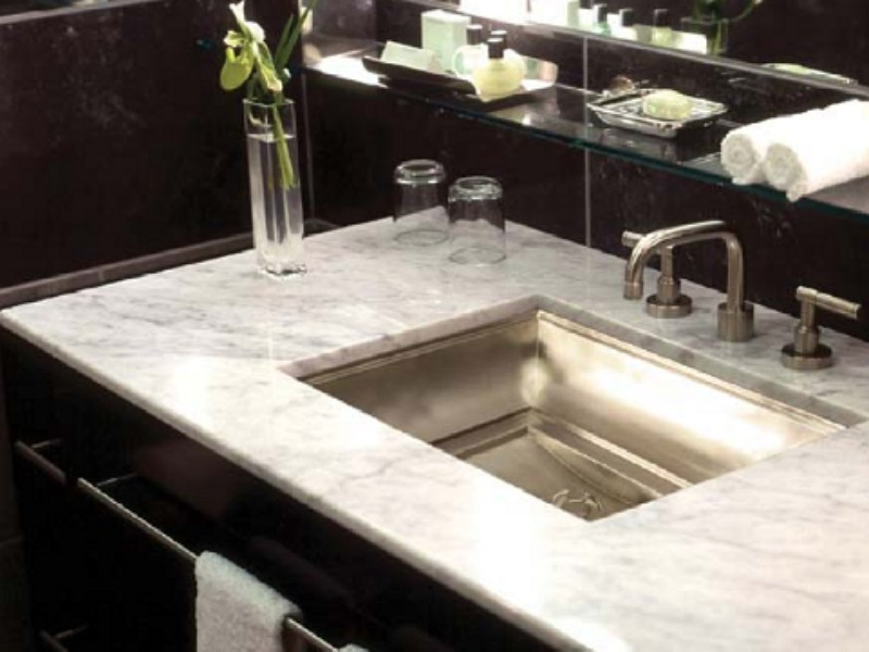Linkasink Bathroom Sink - B039 - SN Bronze Tiffany Sink